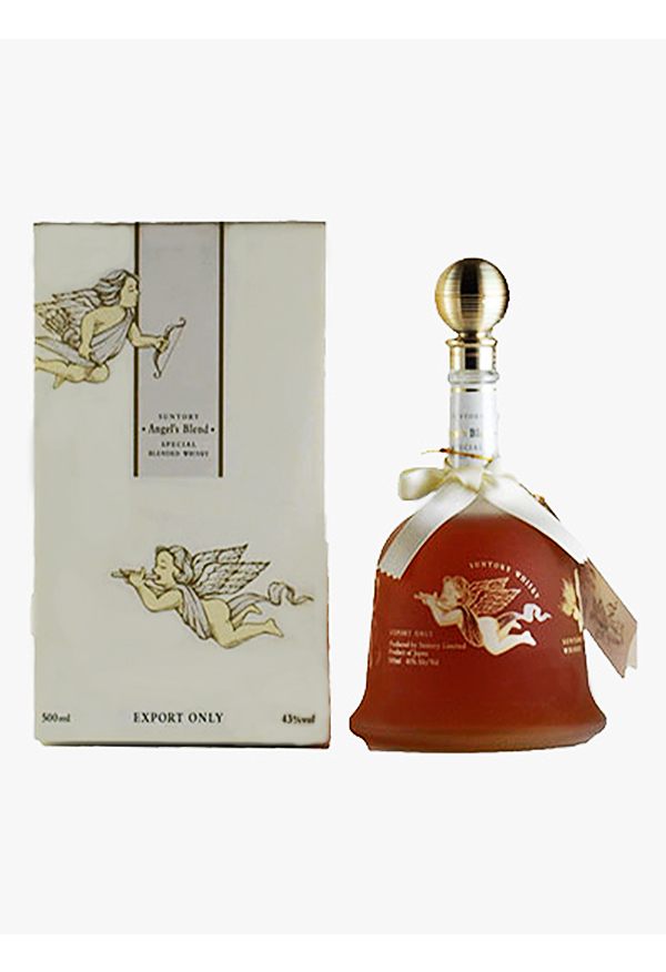 JW-0001-Suntory-Whisky-Bell-Shape-Old-Liquor-Old-Whisky-Whisky-70cl