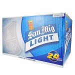 B-0014-San-Miguel-Light-Beer-Pint-Bottle-Pale-Pilsen-330mlX24